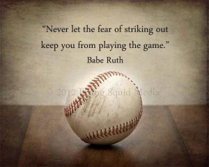 Famous sports quotes, cool, best, sayings, babe ruth