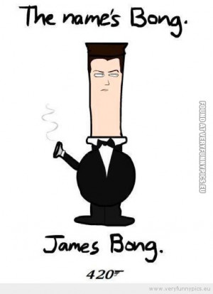 Funny Picture - My name is Bong, James Bong