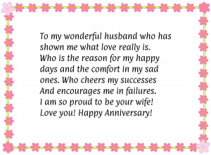 Happy Anniversary Husband Quotes