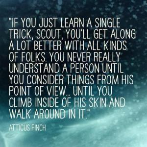 Atticus Finch quote