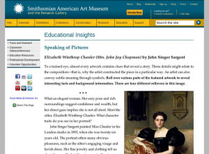 Singer Sargent s Elizabeth Winthrop Chanler Mrs John Jay Chapman