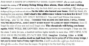 lyric quotes pierce the veil pierce the veil self harm