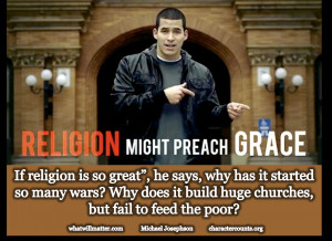 ... Controversy – Young Christian Says He Hates Religion but Loves Jesus