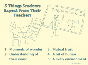 in a two-part series about the expectations of learning relationships ...