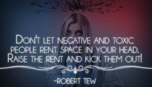 No more negative people quote