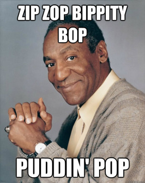 You all remember Bill Cosby pushing those delicious Jell-O Pudding ...