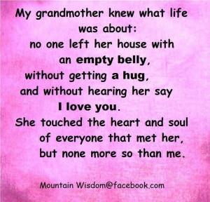bill no place like grandmas a grandmother is a little bit