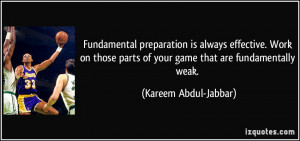More Kareem Abdul-Jabbar Quotes