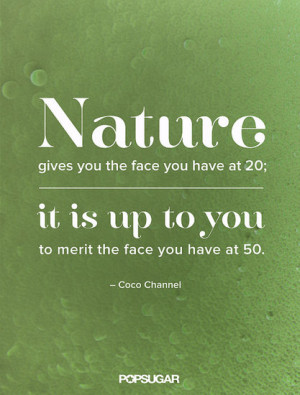 You could say Coco Chanel knew a thing or two about aging gracefully.