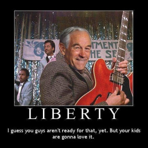 Ron Paul AND Back to the Future in one meme? Had to share that son!