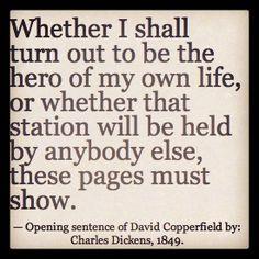 David Copperfield - A Favorite Dickens novel