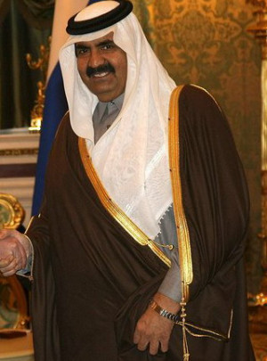 Qatar's Sheikh Hamad, who definitely isn't sclerotic, autocratic or ...