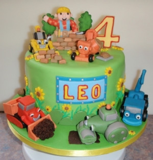 Bob the Builder Birthday Cake