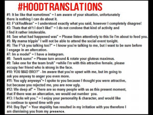 tumblr.com#ghetto #black sayings #