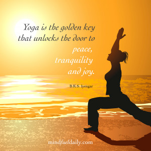 Yoga Quotes by B.K.S. Iyengar