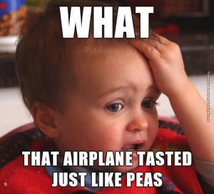 funny pictures airplane baby peas