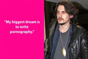 Dumb John Mayer Quote