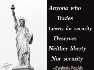 Which would you choose Freedom or Security?