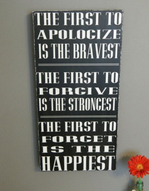 ,quotes, Christian signs, The First to.... 12x24 handmade wood sign ...