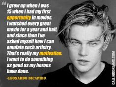 Best Leonardo Dicaprio Quotes