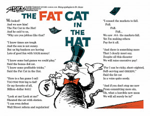 The fat cat in the hat