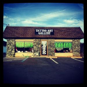 Old Sacramento Tattoo Shop