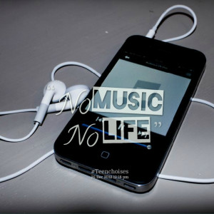 Quotes Picture: no music no life