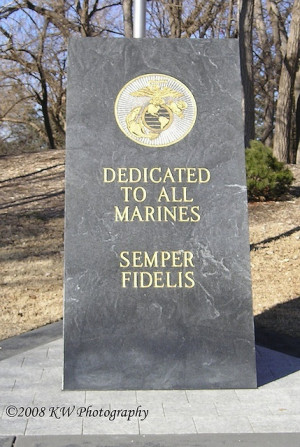 Proud to be the daughter of a WWII Marine.