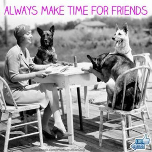 make time for friends