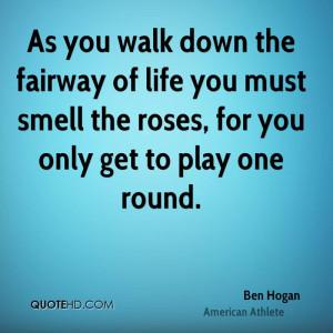 Ben Hogan Wisdom Quotes