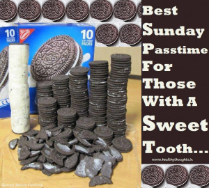 Best Sunday Pass Time For Those with a sweet tooth
