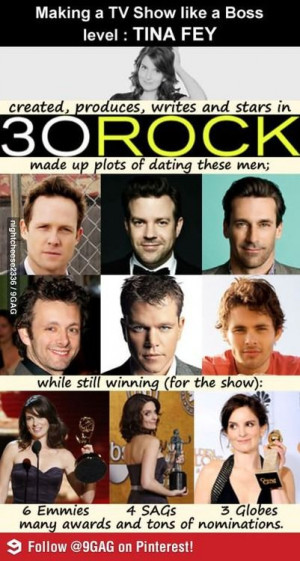 30 Rock--- Long story short, basically Tina Fey is a genius.