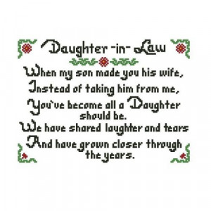 Mother and Daughter in Law Quotes