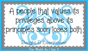 This weeks quote is by Dwight D Eisenhower.