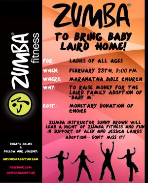 Zumba Fundraising Night – YOU'RE INVITED!