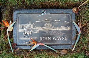 Wayne Photo Gallery: John Wayne's gravestone bears his famous quote ...