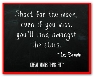 Goal Quote by Les Brown