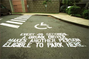 ... Driver Makes Another Person Eligible To Park Here ~ Driving Quotes