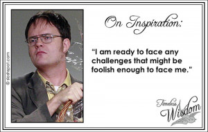 funny quote the office