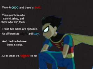 Teen Titans Robin Quotes