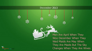 Happy (Winter) December Quotes And SMS Messages With Picture