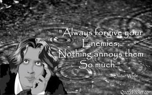 Sarcastic Quotes About Enemies