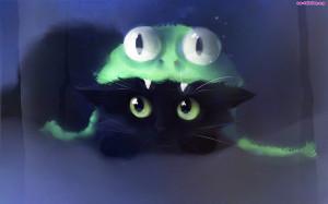 Żaba, Czapka, Kot