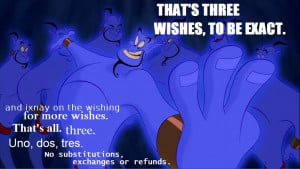 Aladdin Quotes Genie Image...
