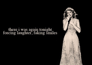 Quotes by Taylor Swift Song