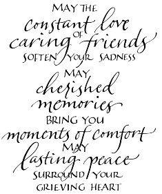 My heart is heavy for a dear friend ♡