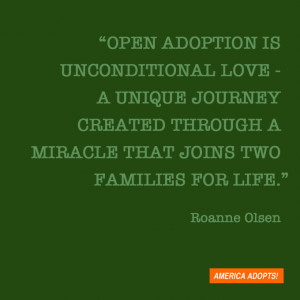 Open adoption is having our son keep in touch with his biological ...