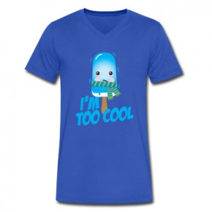 Comic too cool quote ice cream vintage character with scarf for hot ...