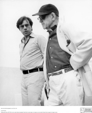 Bogdanovich with John Ford, one of his heroes, 1972. Photo courtesy of ...