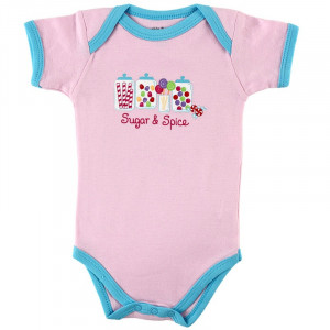 Baby Sayings sugar and spice Candy Romper ,Baby clothing -Baby Girl's ...
